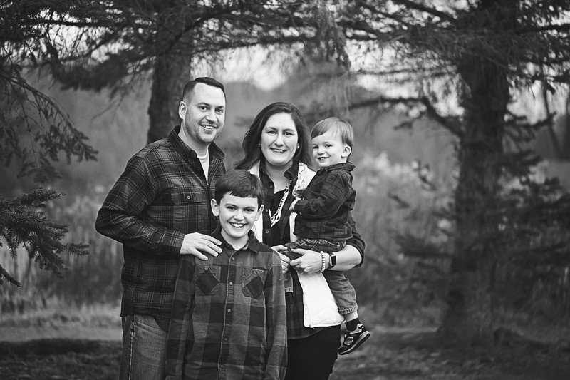 VanDeventer family 2017 bw