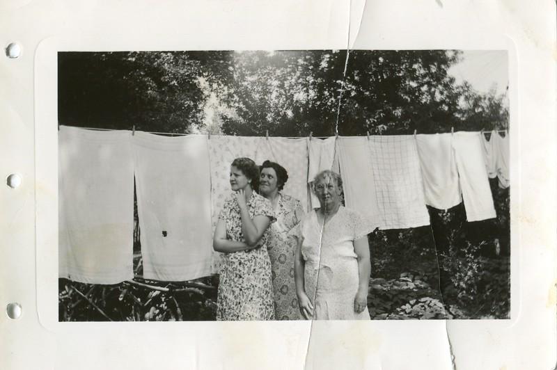 Audrey Palmer Alice and Ruth VanDeventer