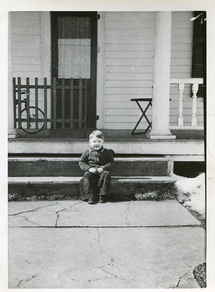 Robert on porch