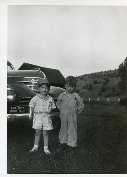 Robert VanDeventer and friend