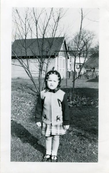 1948 Marlene at Salamanca Aunt Florences Thanksgiving Day November 25