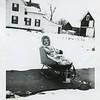 Marlene in sled