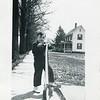 Robert VanDeventer with scooter