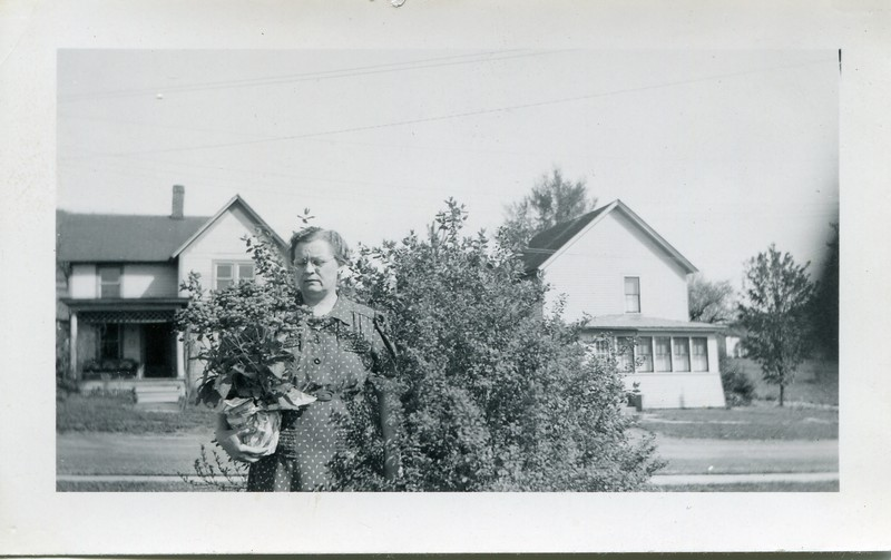 titled, me with my Mother's Day plants