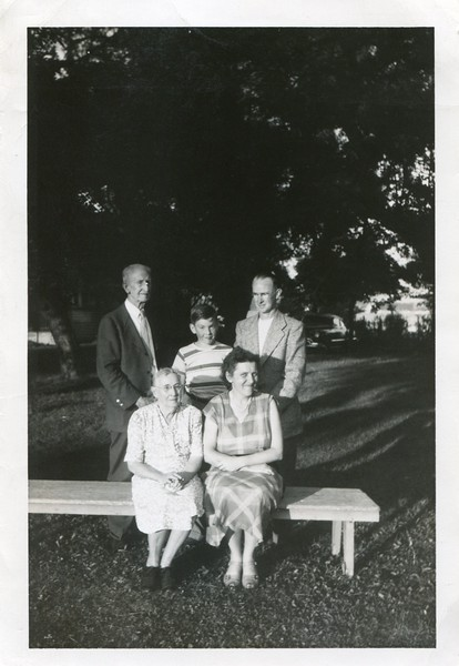 Fred Huey Ruth Robert Alice and Francis VanDeventer