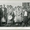 1934 Engalls and Ridenberg reunion Belfast NY at VanDeventer home