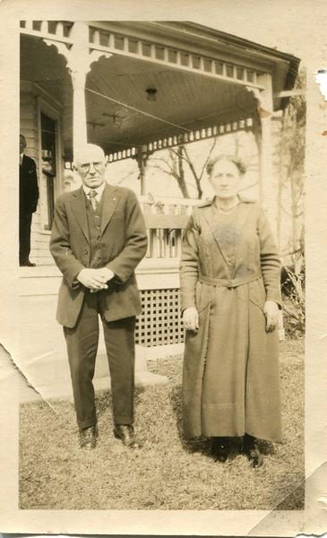 Frank and Clara Waugh on Watkins farm