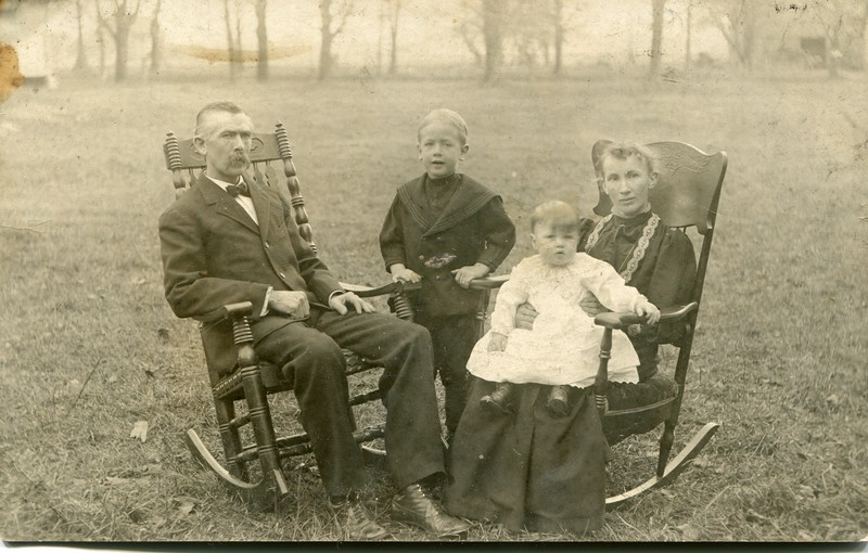 Edwin, Eugene Francis and Ruth VanDeventer