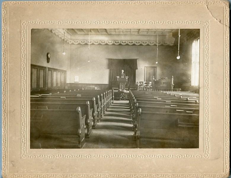 Rev Edwin Porter VanDeventer Maine Baptist Church