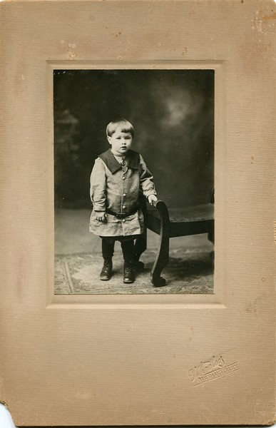 Francis C VanDeventer toddler