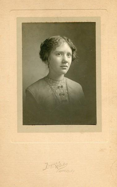 1913 Learena VanDeventer Edwin and Ruth VanDeventer's niece