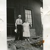taken at their cottage after a flood  They had to rebuild