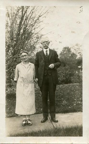 Ruth and Edwin VanDeventer Caton NY