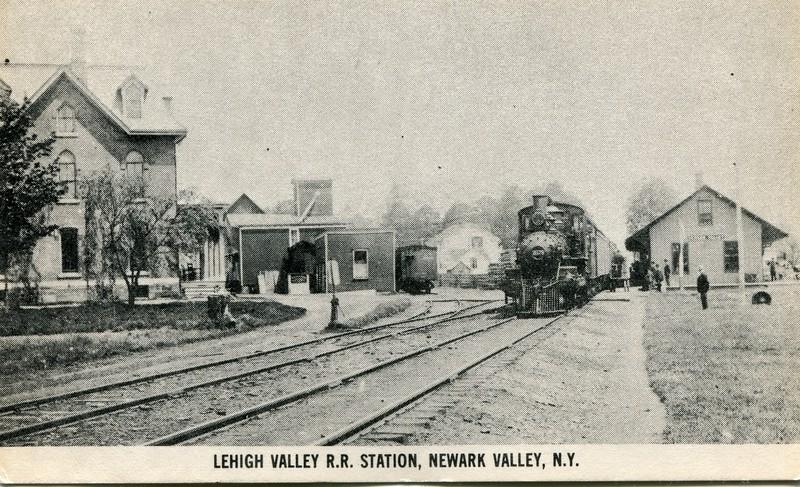 Lehigh Valley RR Newark Valley