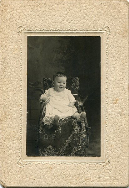 Francis Claire VanDeventer in 1908 born September 9th 1907
