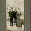 EP VanDeventer Richard and Eva Slowith Wedding Day Elmira NY October 10 1906