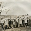 Alice Kame with school children early 1920s