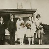 Eugene VanDeventer wedding 1929