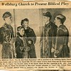 Edwin VanDeventer newspaper clipping