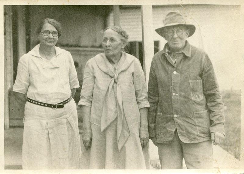 Clara Waugh Frank Waugh cousin Ruth Frary