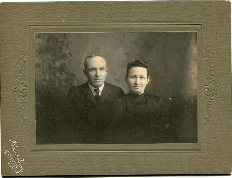 Frank and Clara Waugh