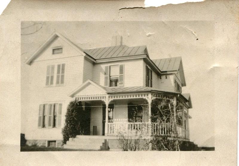 Clara Waugh and Frank Waughs home