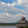 Putra Mosque at Putrajaya Lake