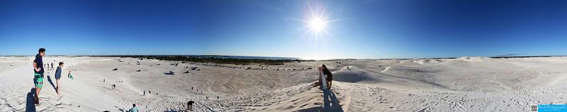 Sandboarding at Sand Dunes, Lancelin