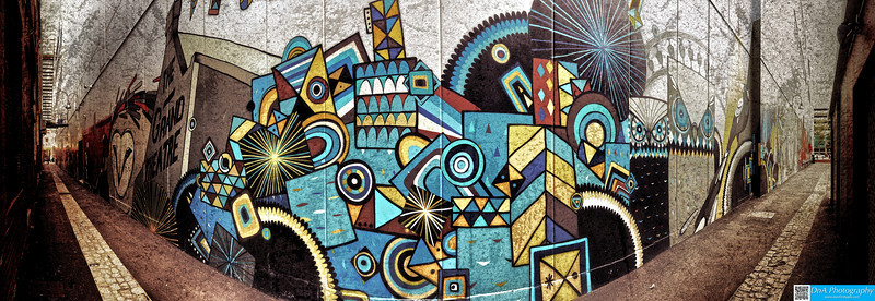 Grand Lane Mural by Bonsai & TwoOne