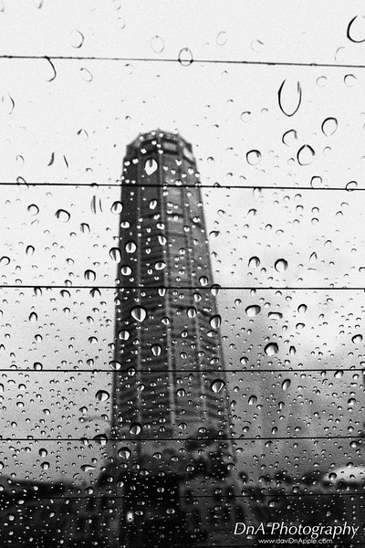 Komtar - i was playing with EOS M in camera B/W grainy effect, shoot thru rear windscreen of my friend's car.