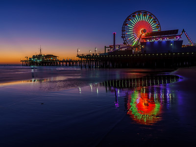 Santa Monica Pier - Los Angeles, CA