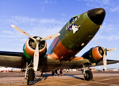 C47 Spooky at Wings Over Houston 2010 at Ellington Field in Houston, Texas