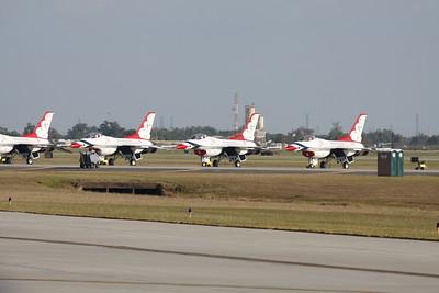 Photo taken during Wings Over Houston 2010 at Ellington Field in Houston, Texas