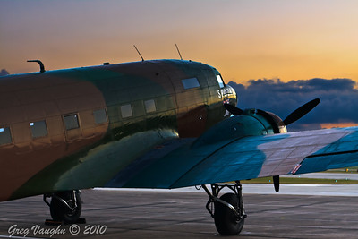 Douglas AC-47 Spooky at Wings Over Houston 2010 at Ellington Field in Houston, Texas