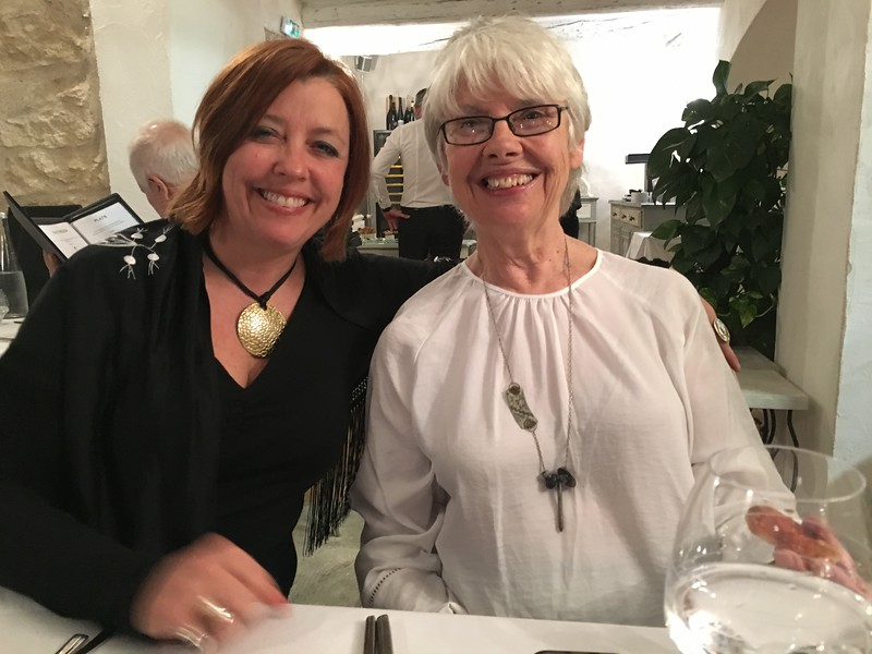 mom and jenny Gordes France