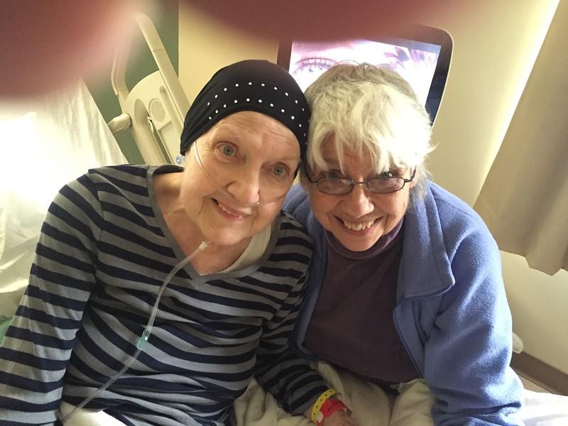 Myrna & Carol @ rehab