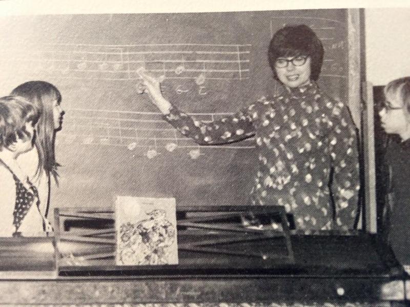 Carol in classroom