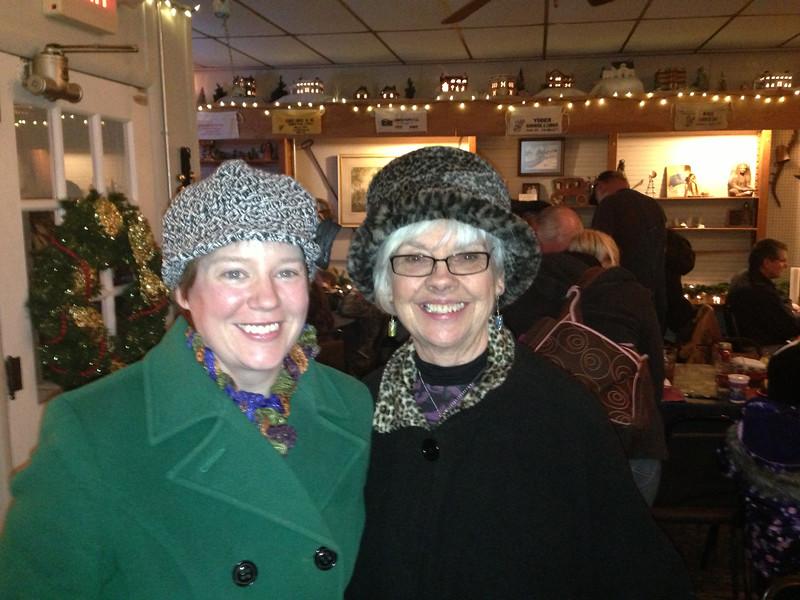 Carol and Maureen mo