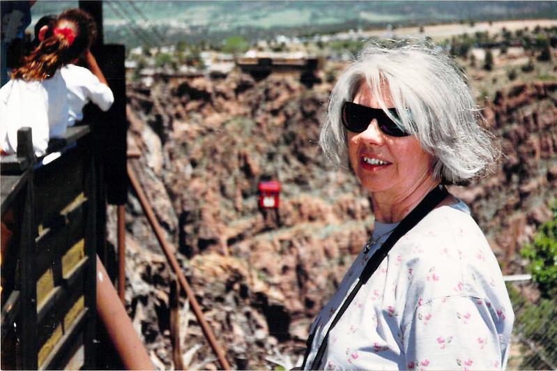 Carol At Royal Gorge