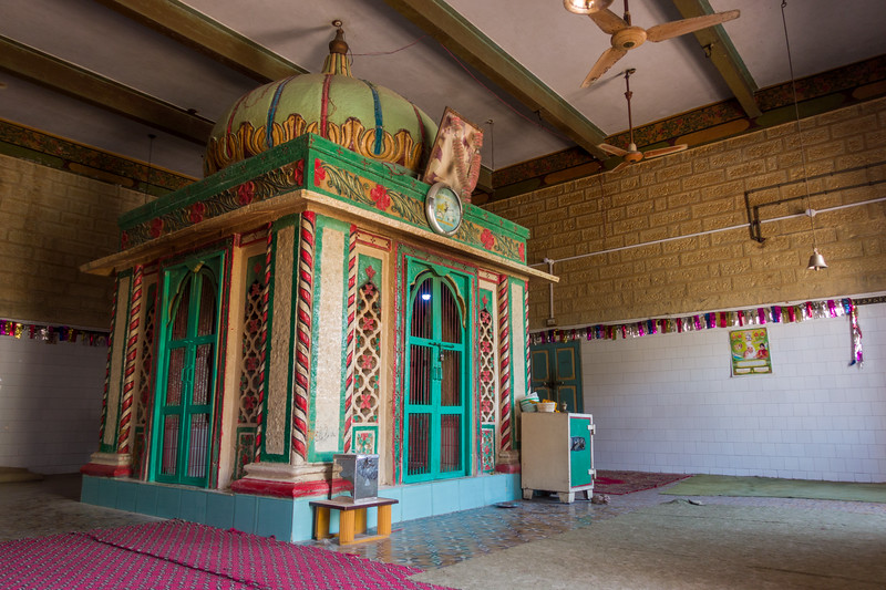 The site where Baba Sri Chand is said to have achieved samadhi.