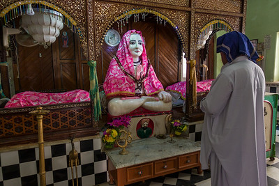 The murti of Baba Sri Chand.