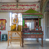The main room of the Hamuman Mandir.