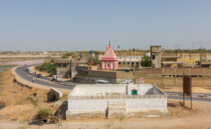 The Mata Ji Mandir in Makli, Thatta District
