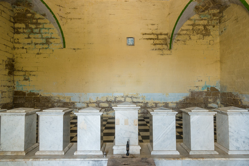 The interior of the Samadhi.