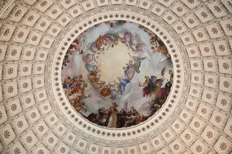 Capitol dome detail