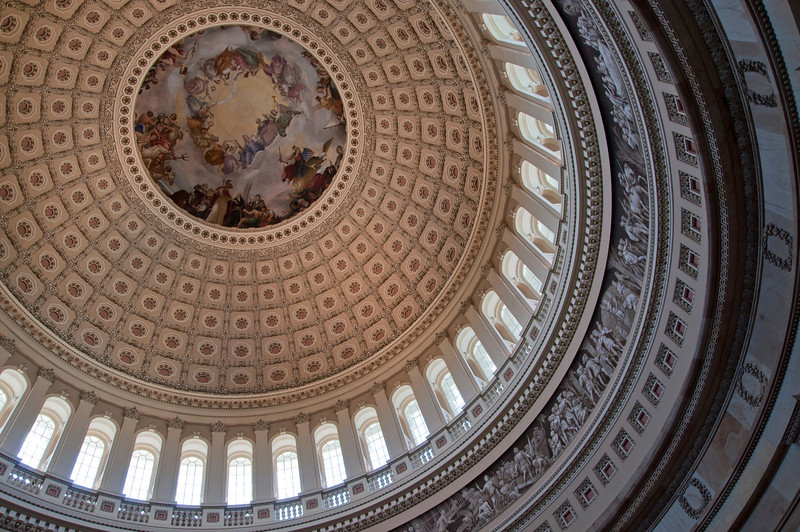 US Capitol's dome.