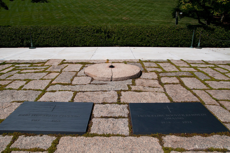 John F. and Jackie Kennedy and the Eternal Flame