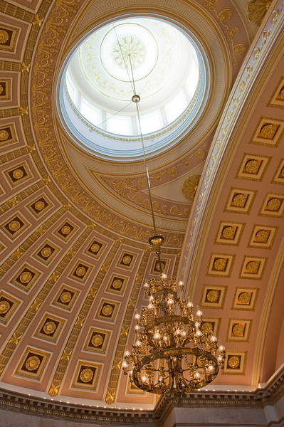 ceiling from the old House of Representatives room