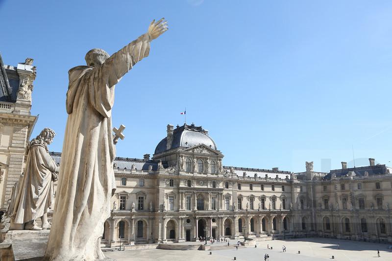 The Louvre<br /> Paris, France - 09.01.13<br /> Credit: Jonathan Grassi