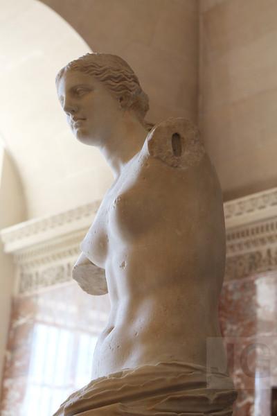 Venus de Milo, The Louvre<br /> Paris, France - 09.01.13<br /> Credit: Jonathan Grassi